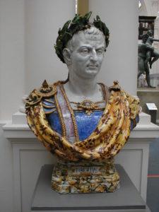 Древнеримский император Тиберий: бюст