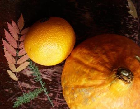 Основные ингредиенты: тыква и апельсин