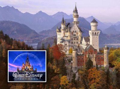 Замок Нойшванштайн, Германия: время постройки 1869-1886 г.г.